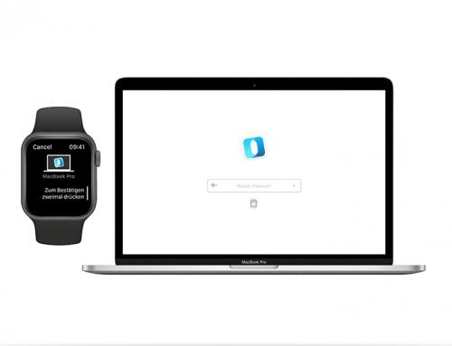 Outbank auf dem Mac mit der Apple Watch entsperren