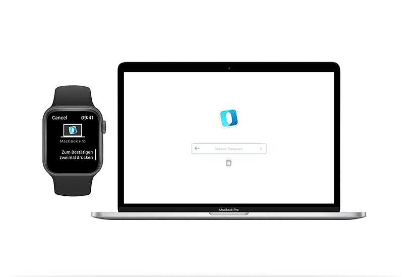 Outbank macOS Apple Watch entsperren