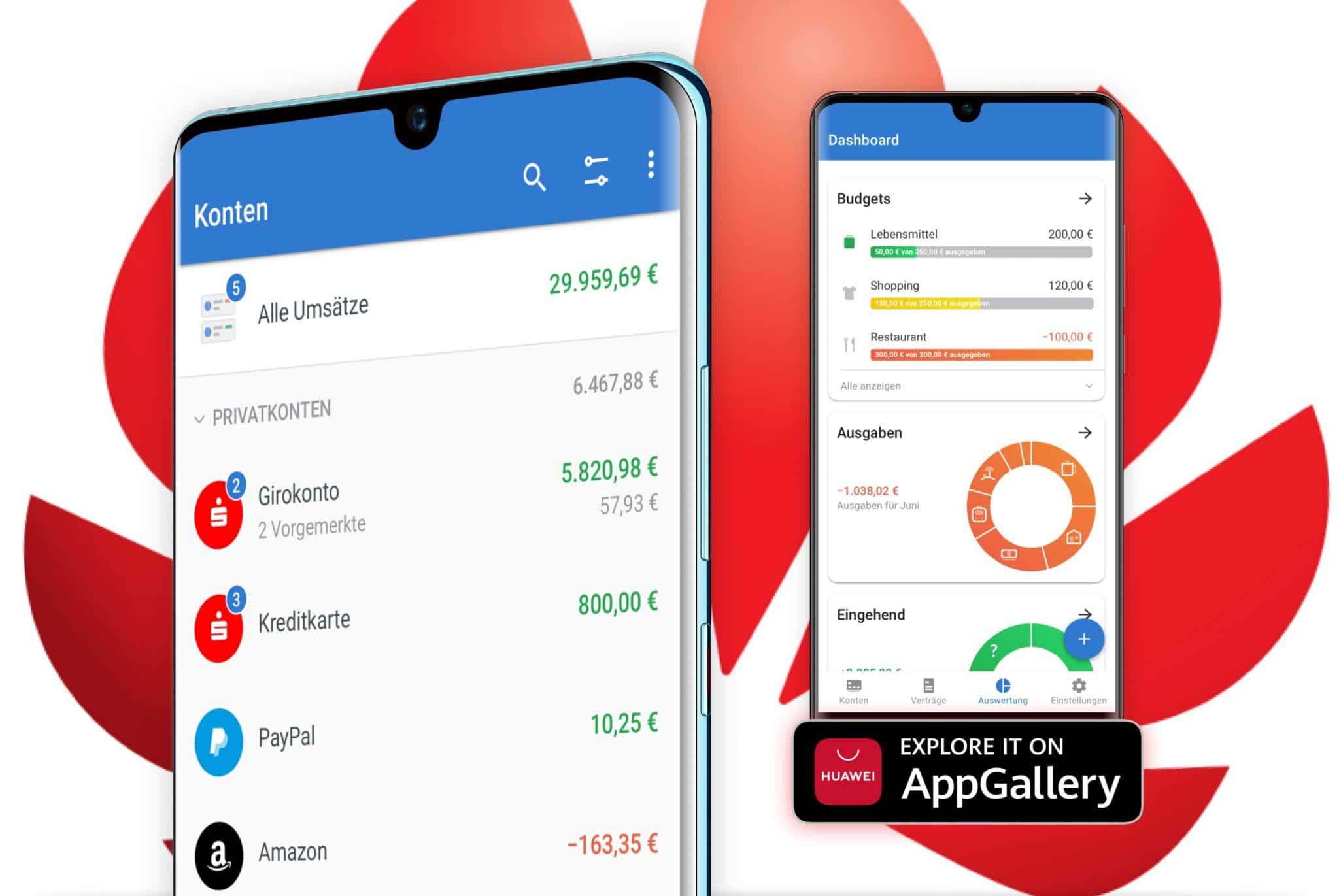 Outbank App in Huawei AppGallery