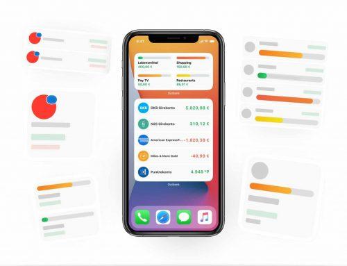 Neue Widgets für deine Budgets und Salden